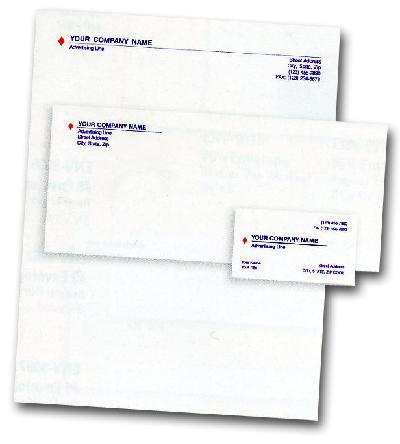 Commercial Printing Network Stationary
